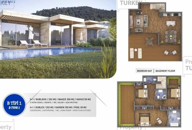 Villas plans