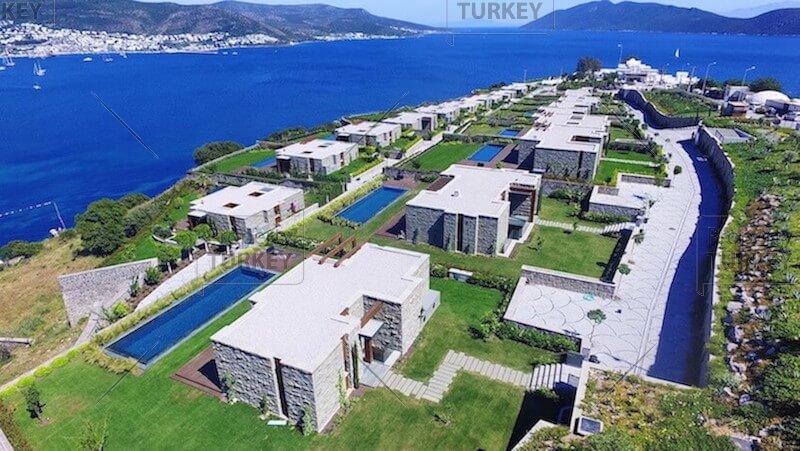 Villas complex