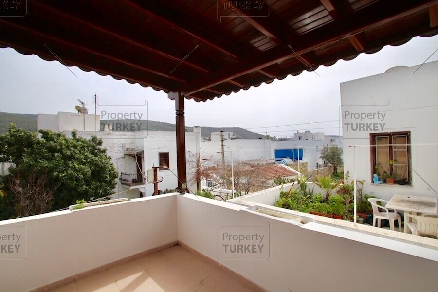 Nice Villa With Roof Terrace For Sale In Bodrum. Villas Views