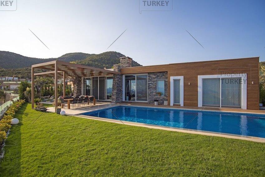 Large villas pool
