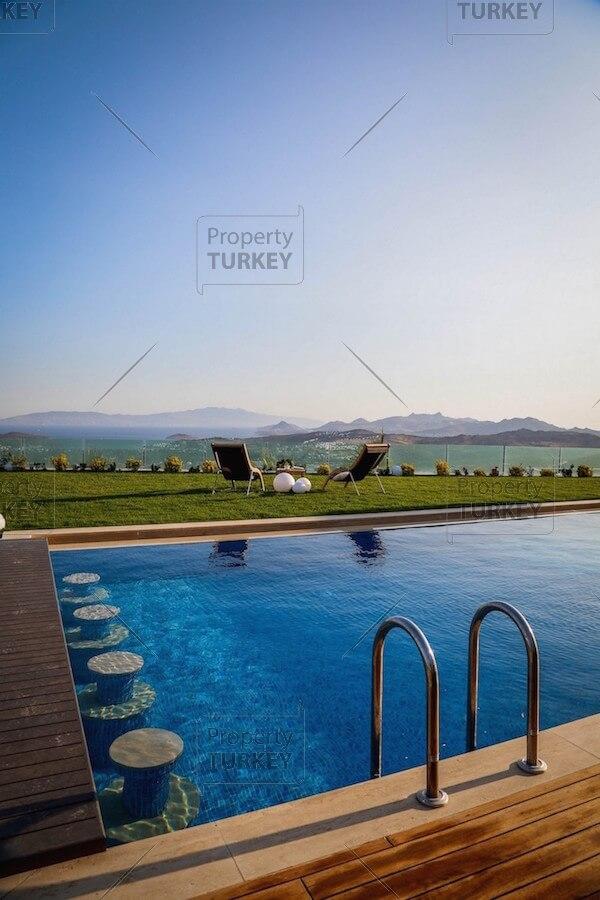 Villas pool