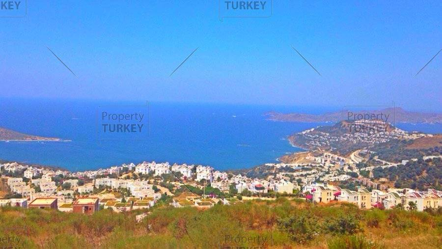 Bodrum sea view land