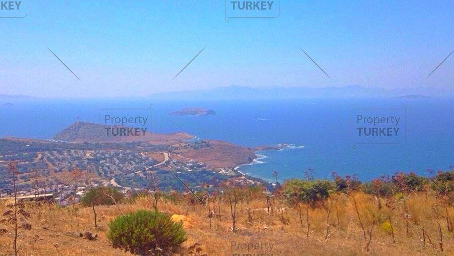 Bodrum plot of land