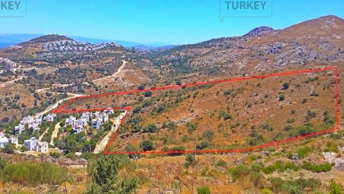 Bodrum sea view plots