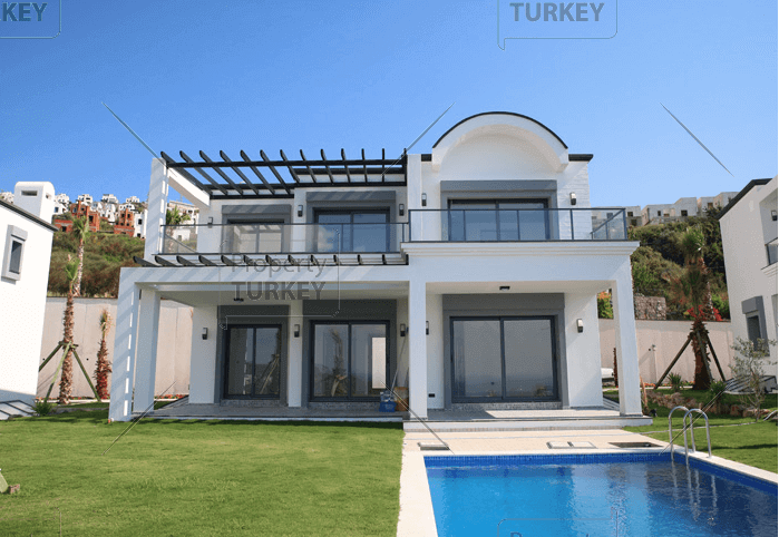 Modern home in Bodrum