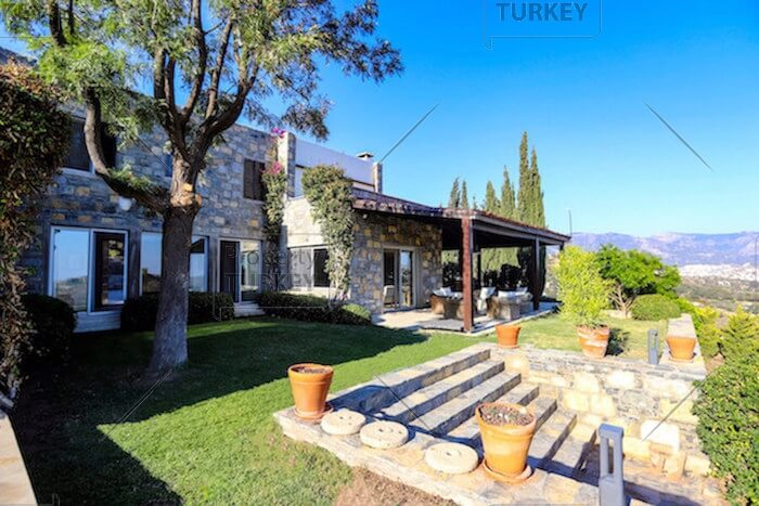 Bodrum private pool villa for sale