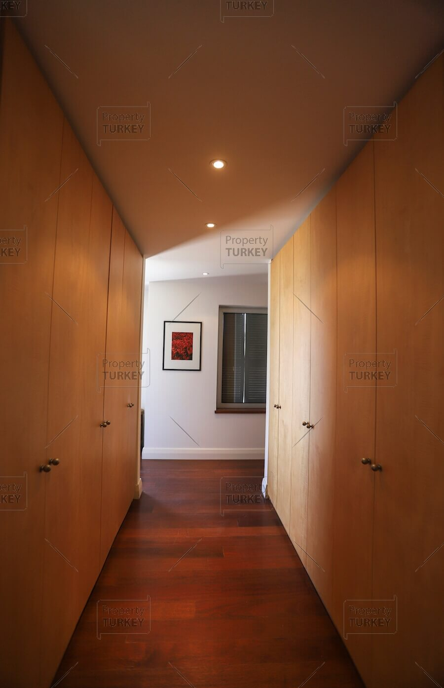 Villas corridor