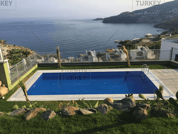 Sea view swimming pool