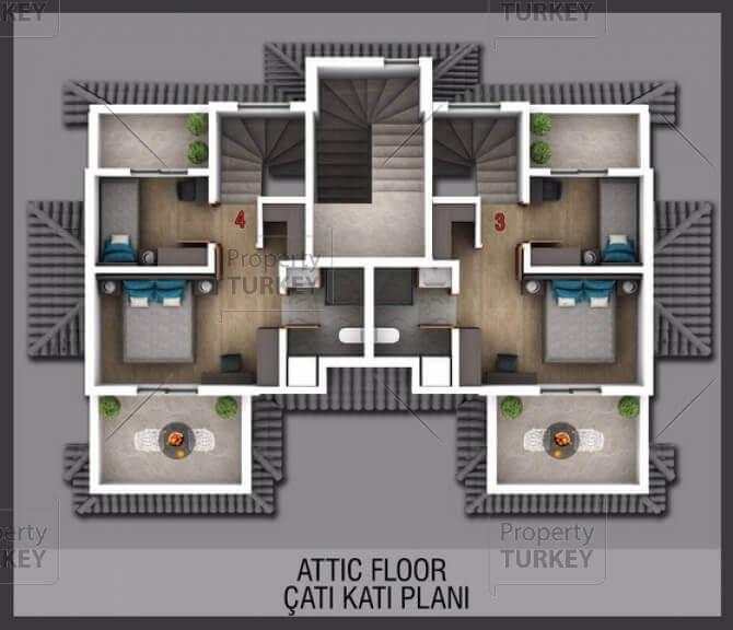 Second floor site plans