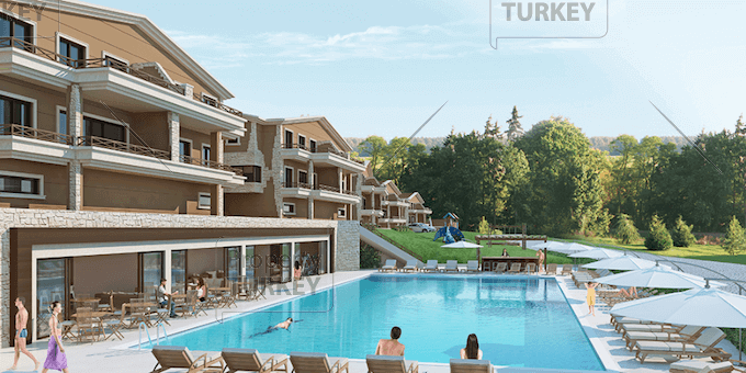 Supreme Bursa villas within prestigious project