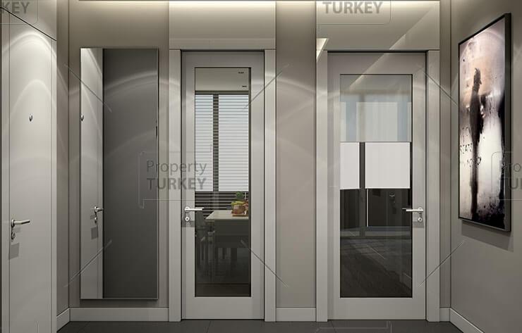 Apartments hallway