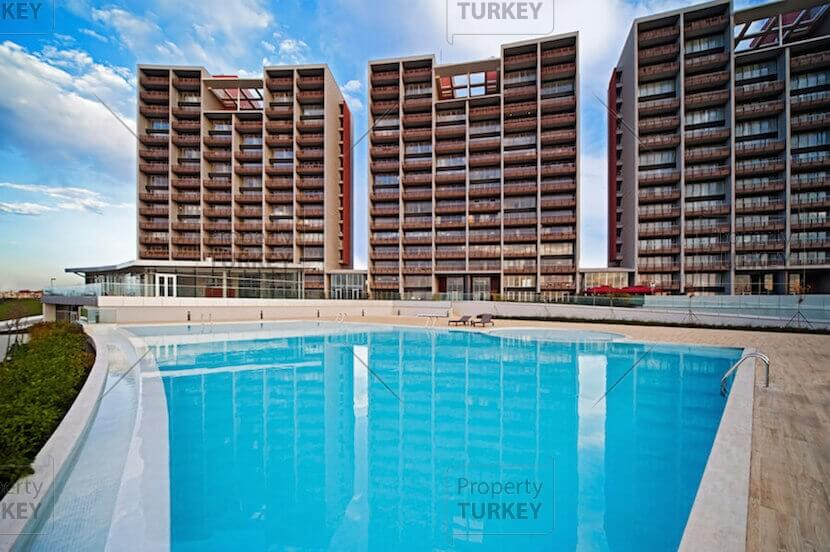 Turnkey sea view apartments ready to move in Istanbul - Property Turkey