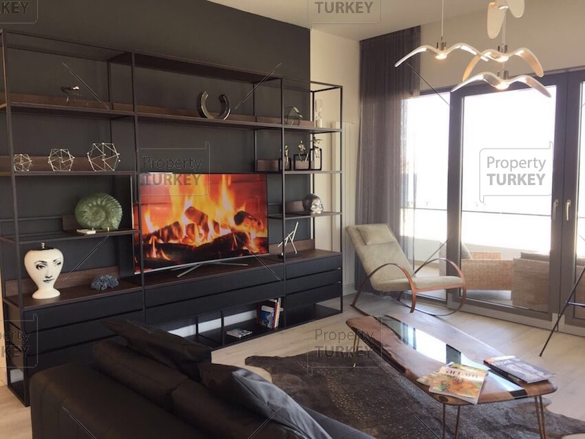 Large TV room