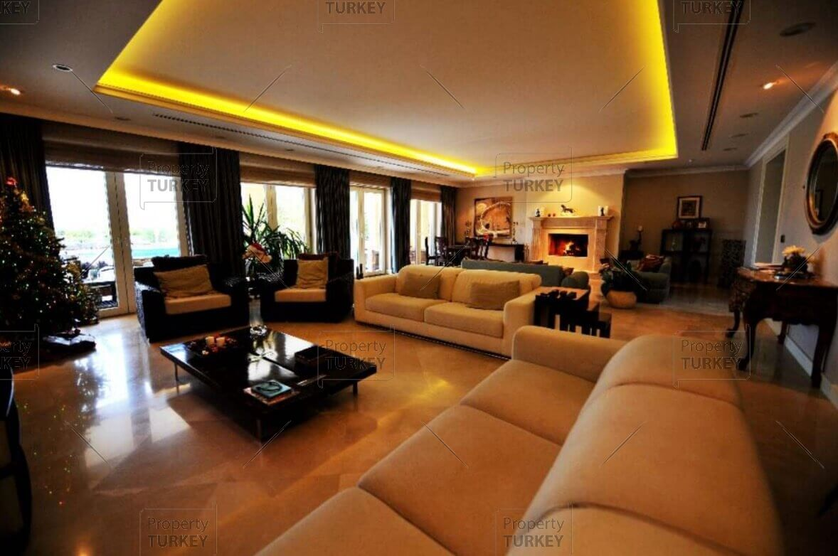 Mansion Living Room >> Outstanding luxury mansion for sale in Buyukcekmece - Property Turkey