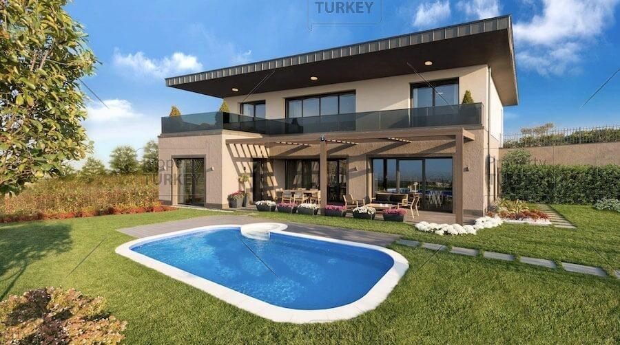 Private villas for sale in Buyukcekmece