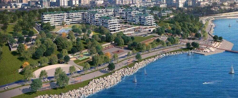 Villas with sea sides