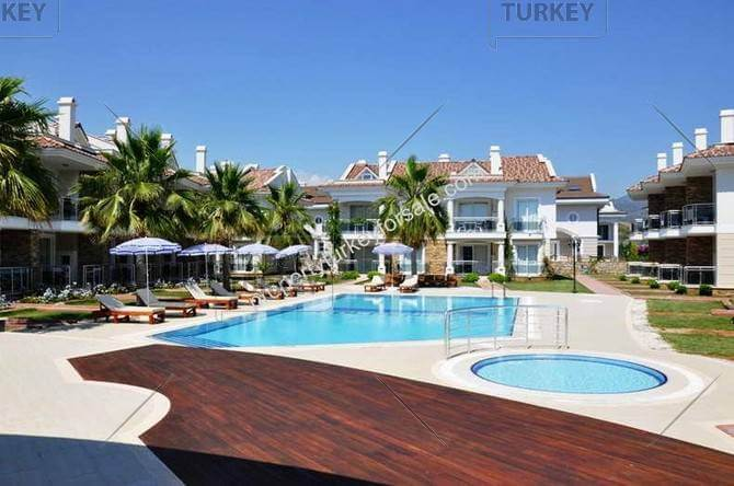 Apartment in Calis with pool