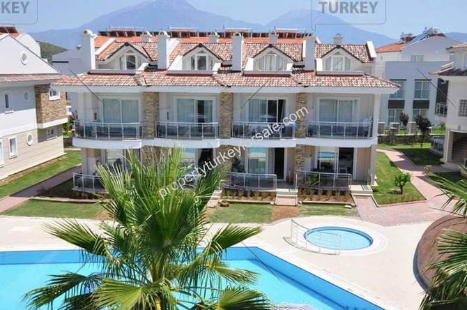 Newly built complex in Calis