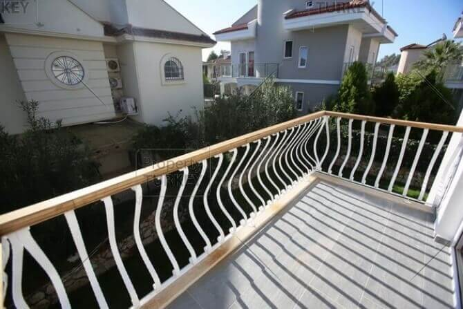 Villas balcony