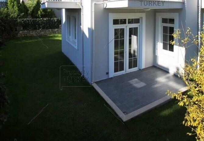 Villas entrance