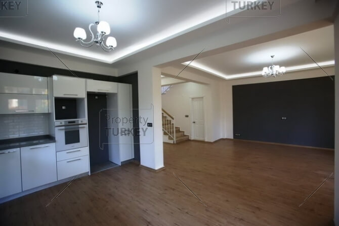Front room and kitchen