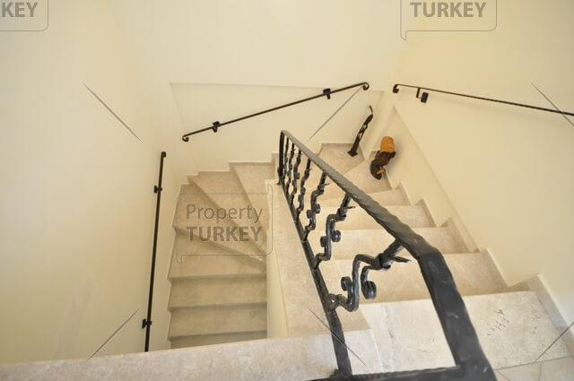 Top floor stairway