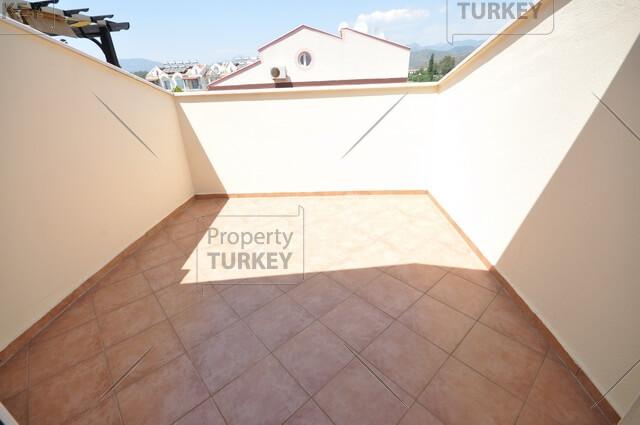Apartments top level terrace