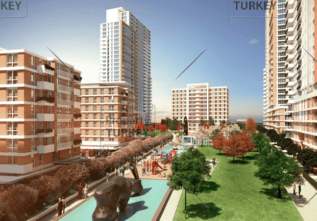 Apartment for sale in central Istanbul