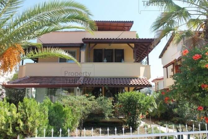 Close to the beach villa for sale ion Calis