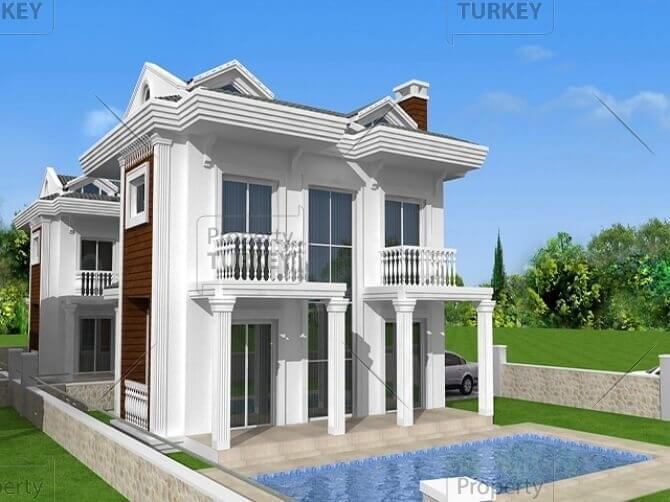 Close to the beach Calis private villa for sale