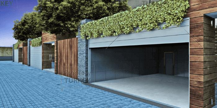 Villa garage