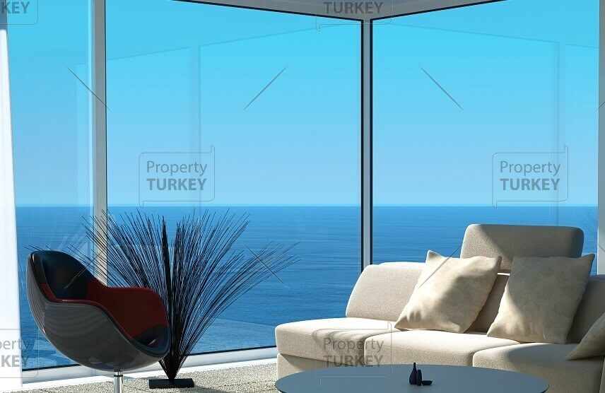 Wester Istanbul apartments with marina views for sale
