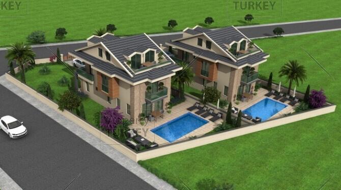 Complex of villas