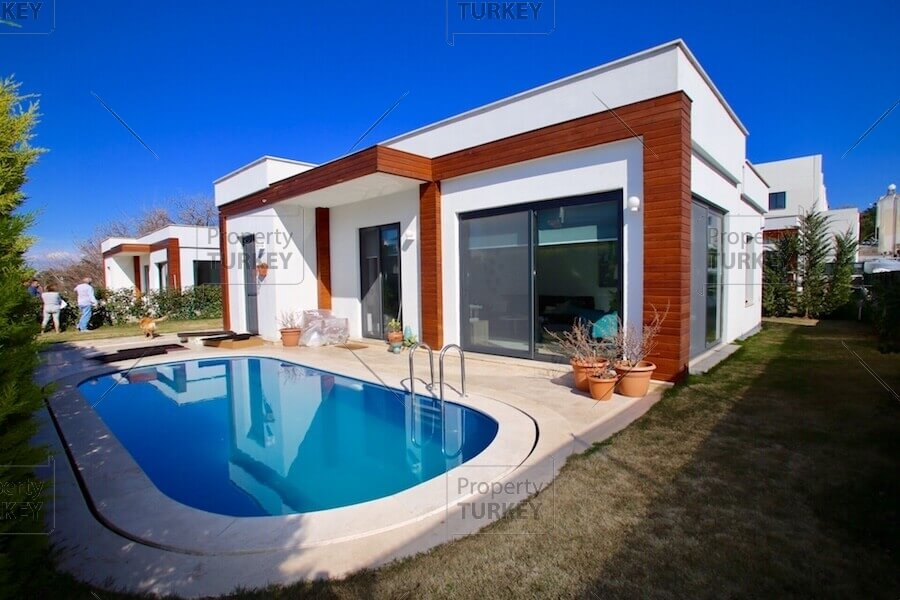 Private pool detached villa for sale in Yalikavak