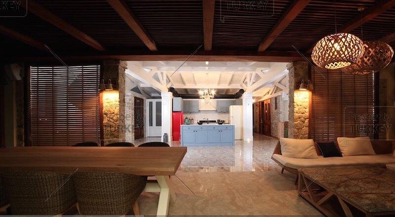 Villas kitchen