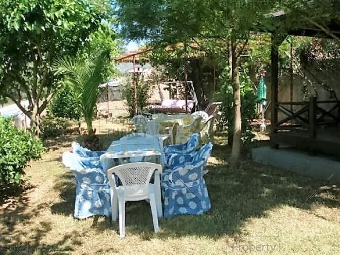 Relaxing area outside