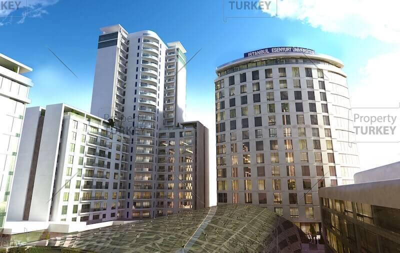 Buildings external look