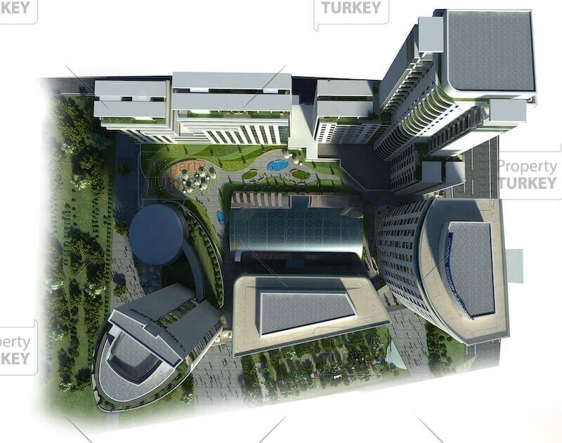 Complex aerial views