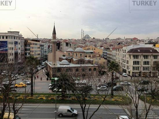 Central istanbul hotel building for sale in fatih