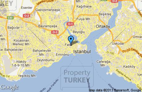 Istanbul Horhor map
