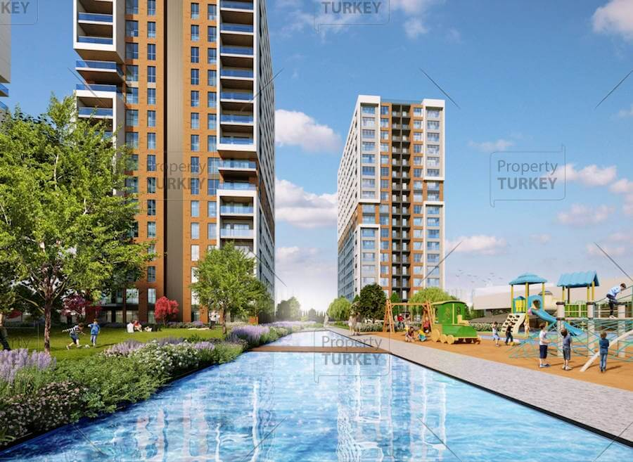 Apartments for sale in Istanbul Gaziosmanpasa