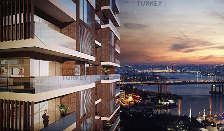Panoramic apartments for sale in Istanbul
