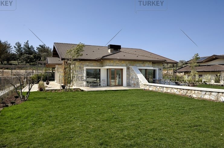 Golf club attached villa for sale in Bodrum
