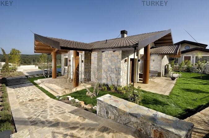 Golf club detached villa for sale in Bodrum