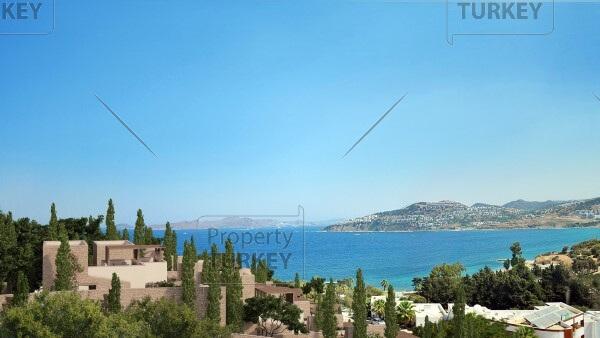 Seaviews from the villas