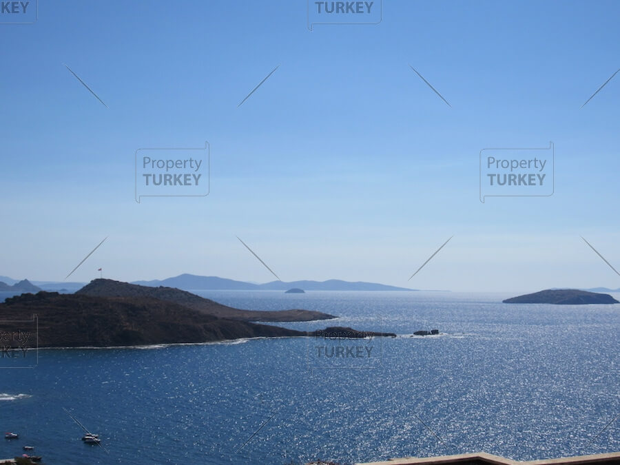 Views to the Greek islands