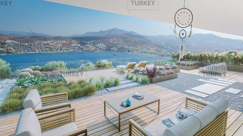 Sea views villa for sale in Gundogan