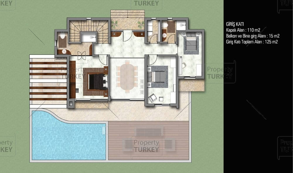 First floor site plans