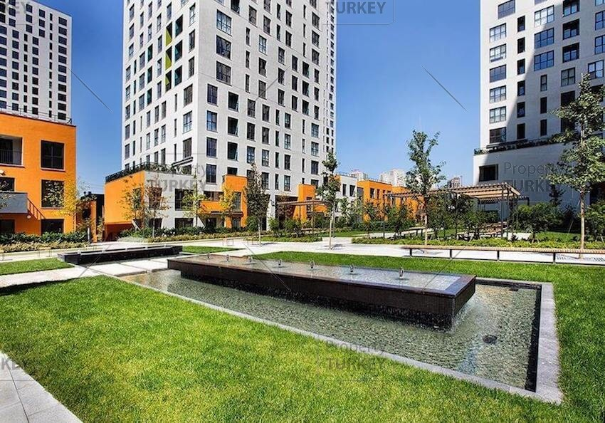 Completed family apartments for sale in Istanbul