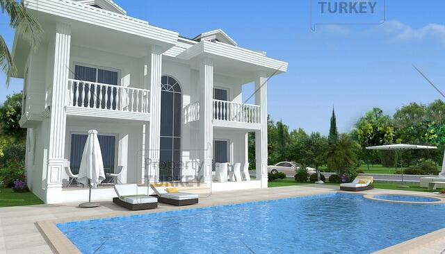 Modern luxury villa for sale in Hisaronu Fethiye